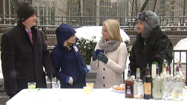 After the Show Show: Snow day cocktails