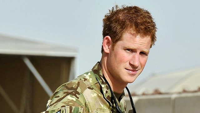 Prince Harry takes army role to help injured soldiers