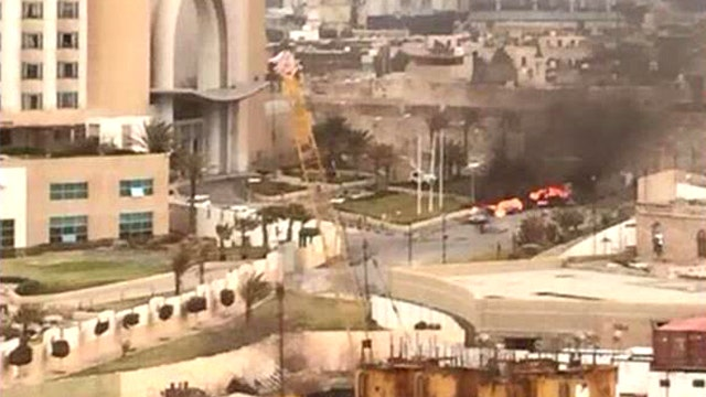 Deadly attack on luxury hotel in Libya