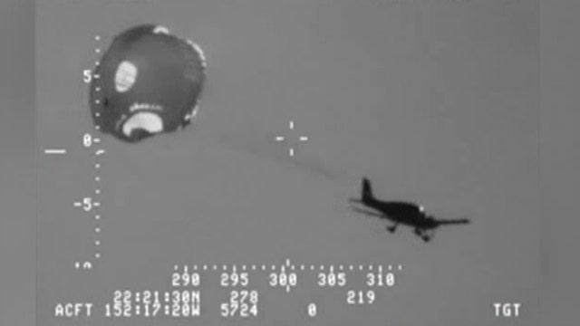 Bizarre emergency landing into Pacific Ocean caught on tape