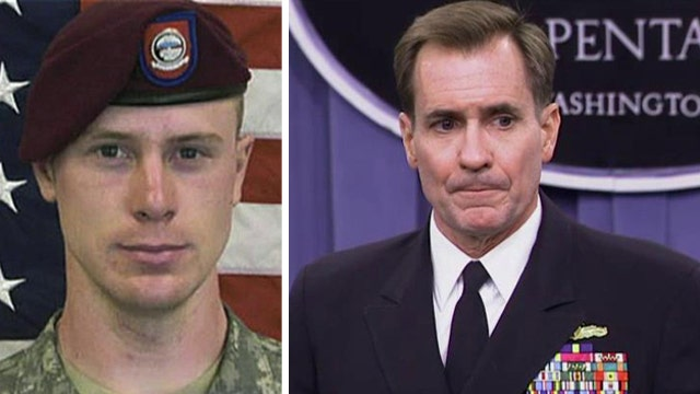 Pentagon: No decision made on charges for Bowe Bergdahl