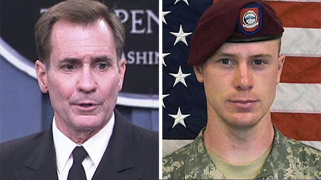 Pentagon: No decision has been made on Bergdahl's fate