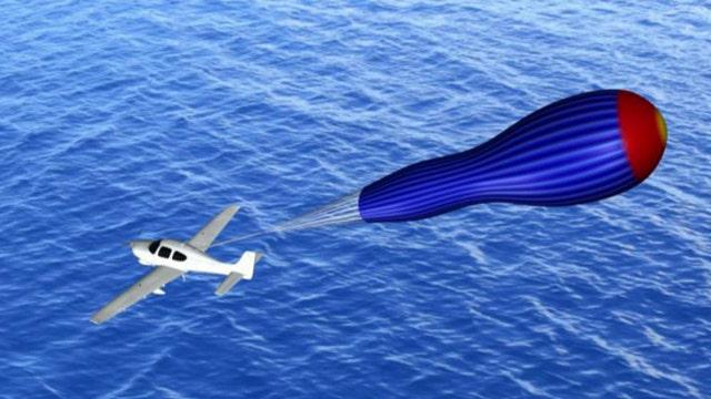 Fox Flash: Parachute for a plane