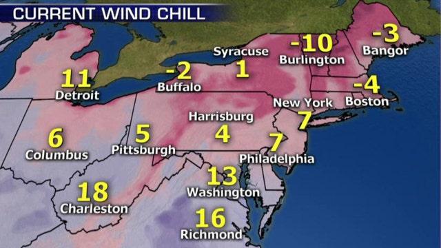 National forecast for Wednesday, January 28