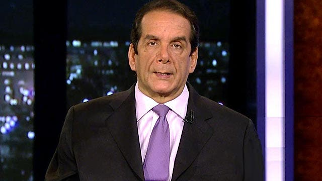 """VIDEO: Krauthammer """"You can't parody this administration"""""""