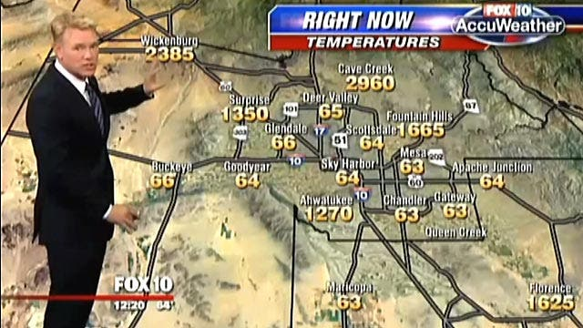 Hell on earth? Weather map shows unimaginable temperatures
