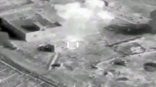 Iraqi Air Force strikes ISIS targets