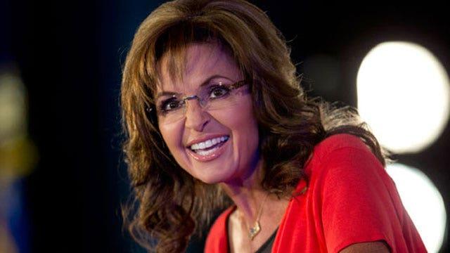 No giggling at Sarah Palin!