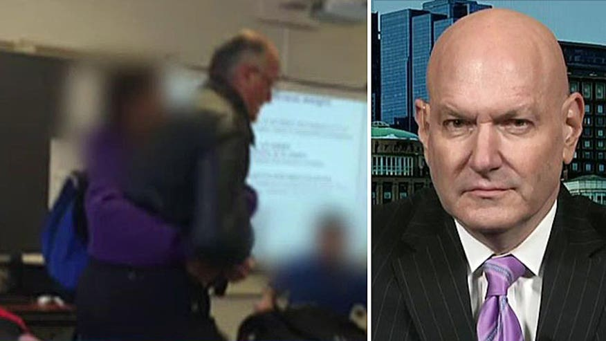 Reaction to student attacking teacher over confiscated phone in N.J.