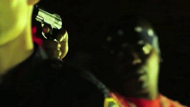 Rap video glorifying cop killing