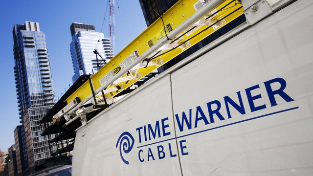 Time Warner cable subscriptions down