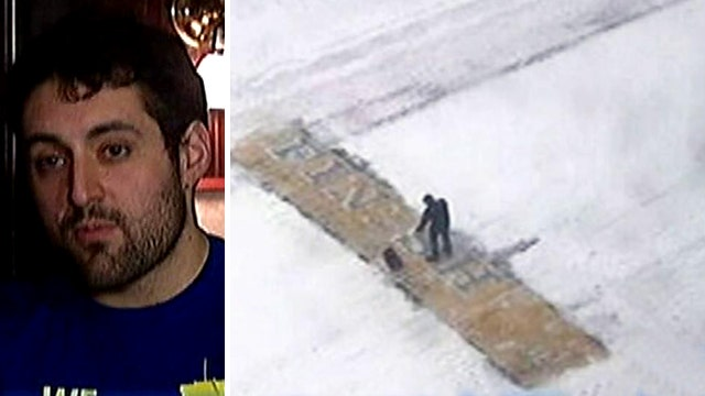 Mystery Boston Marathon finish line shoveler identified