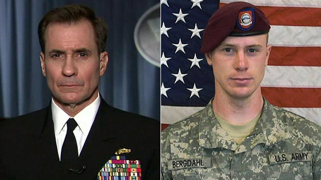 Kirby: 'We don't want to rush to judgment' in Bergdahl case