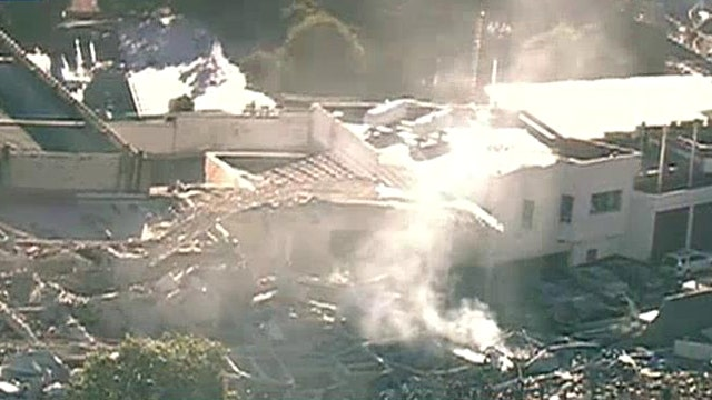 Deadly gas explosion at children's hospital in Mexico