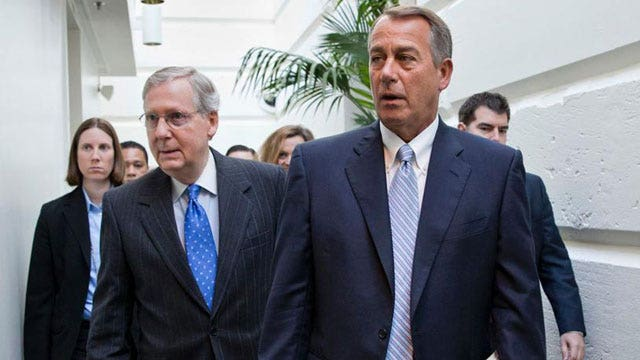 Are Congressional Republicans in total disarray?