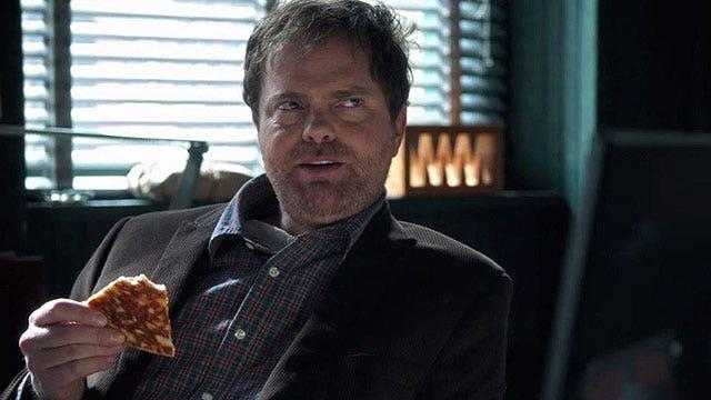 Rainn Wilson quizzes new co-stars