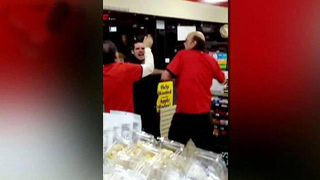 Drunk couple caught on tape terrorizing 7-Eleven night crew