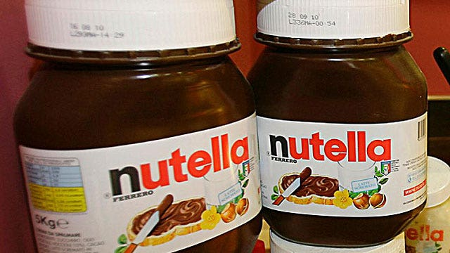French court rules girl cannot be named 'Nutella'