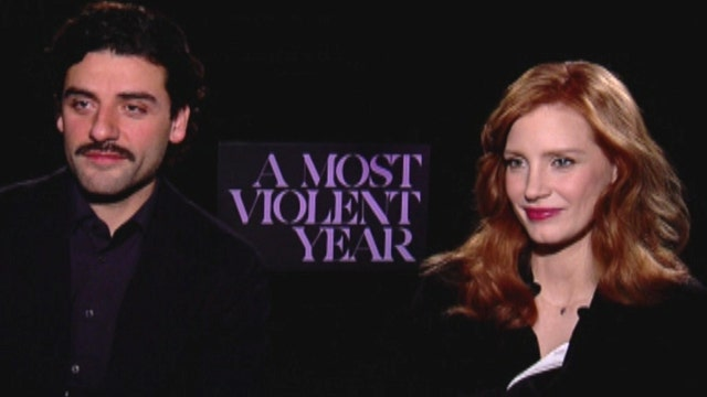 'A Most Violent Year' stars open up