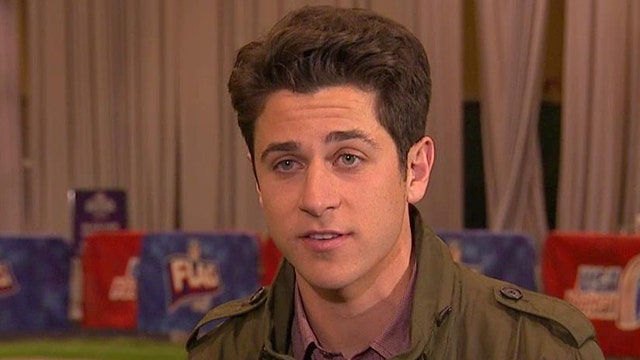 David Henrie on playing Ronald Reagan in new biopic