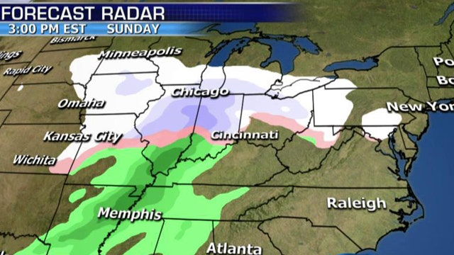 National forecast for Friday, January 30