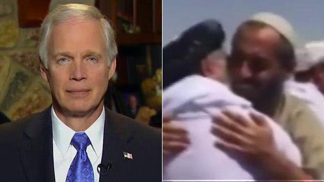 Ron Johnson reacts to ex-Gitmo prisoner talking with Taliban