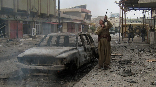 ISIS launches major offensive on key Iraqi city of Kirkuk