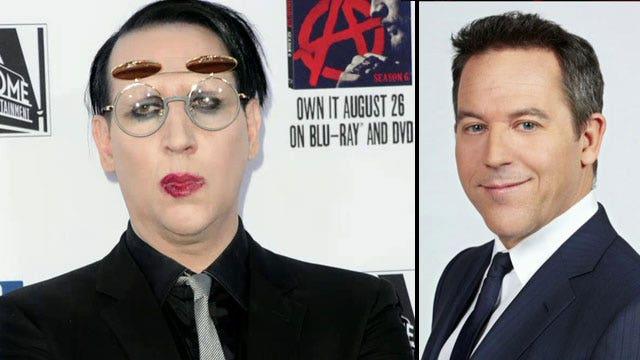 Marilyn Manson in Twitter feud with Greg Gutfeld