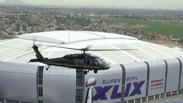 Authorities ramp up security ahead of Super Bowl