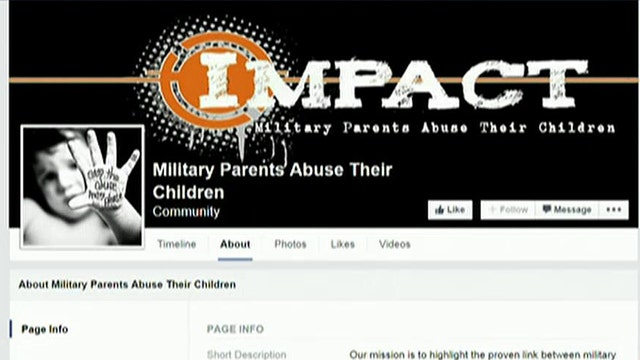 Facebook page pushes to take kids away from military parents
