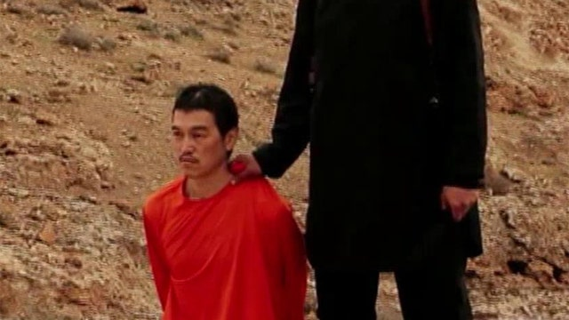 New video appears to show ISIS beheading Japanese hostage