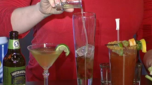 Score a touchdown with these Super Bowl cocktails