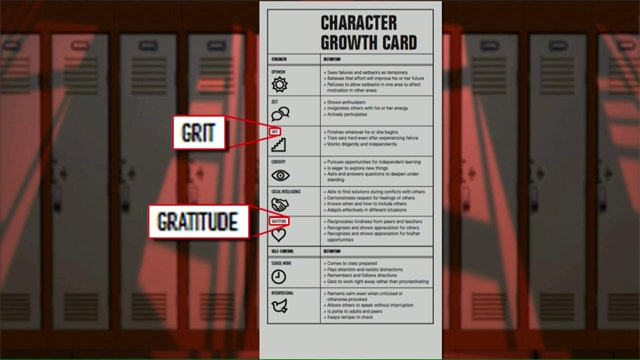 'Grit and gratitude' evaluated on Calif. report cards