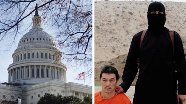 Congress reacts to ISIS beheading of Japanese hostage