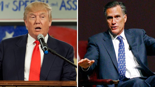 Credit Trump for Romney's decision not to run in 2016?
