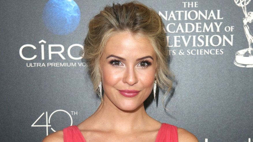 'Bold and Beautiful' star Linsey Godfrey hit by car while walking down sidewalk