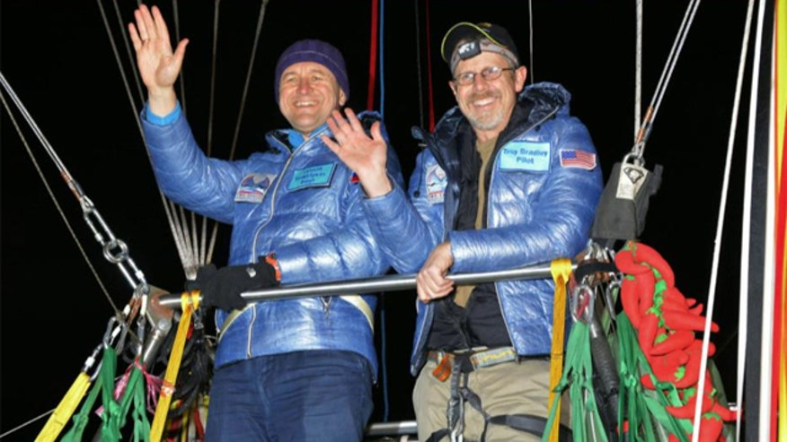 Troy Bradley and Leonid Tiukhtyaev describe nearly 7,000-mile-long trip