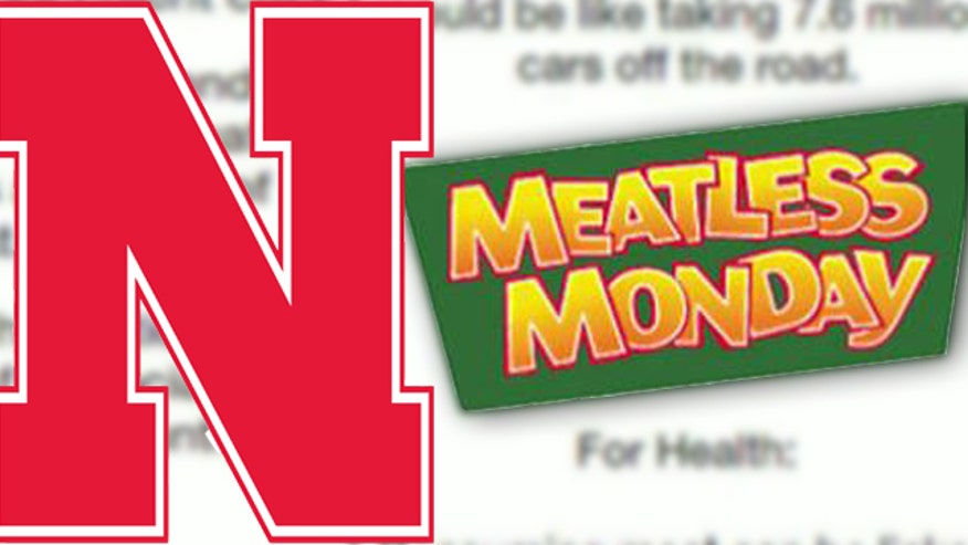 Students reject 'meatless Mondays' flier