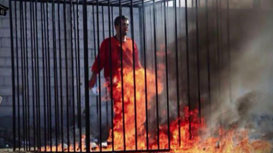 New video purportedly shows Jordanian pilot being burned alive