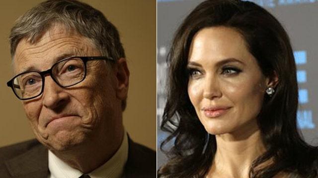 Angelina Jolie, Bill Gates top world's most admired list