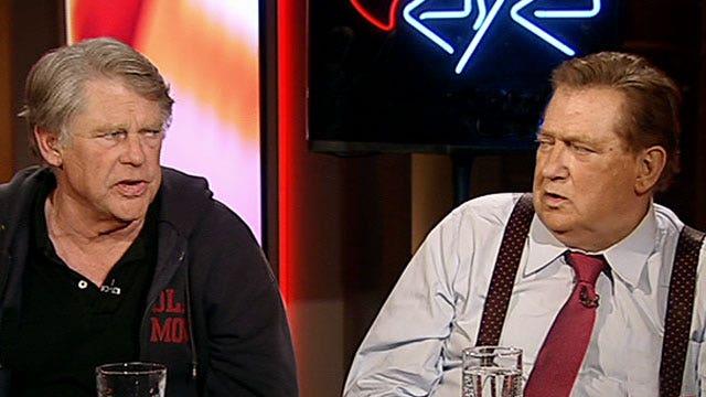 Bob and Graham Beckel on 'Red Eye'