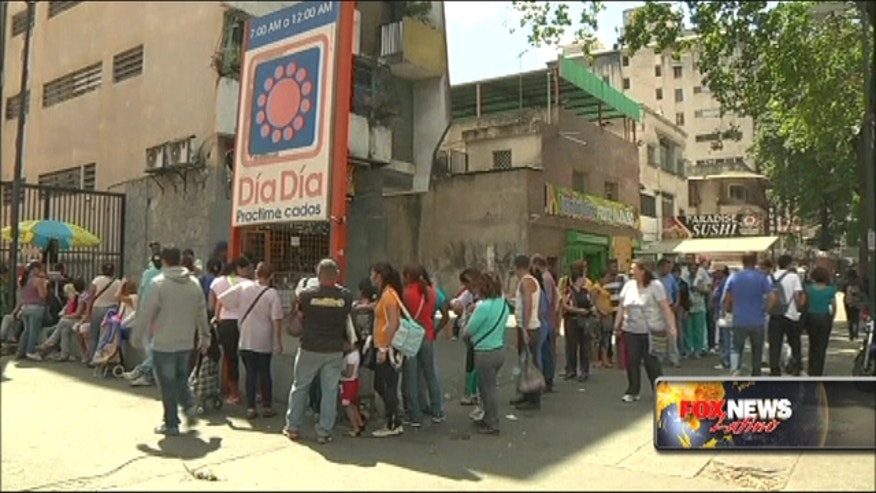 Venezuelan goverment 'occupy' supermarket chain
