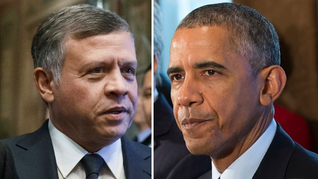 Critics compare Obama unfavorably to Jordan's King Abdullah