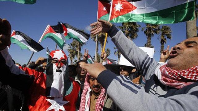 Report: Jordan kills 55 in airstrikes
