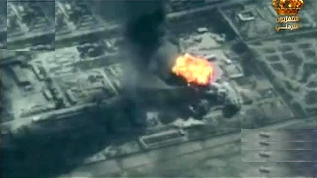 Jordan's military pounds ISIS targets