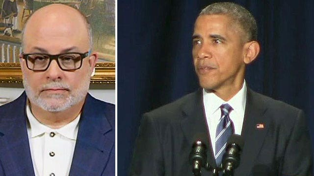 Mark Levin says Obama is 'stuck in his own ideology'