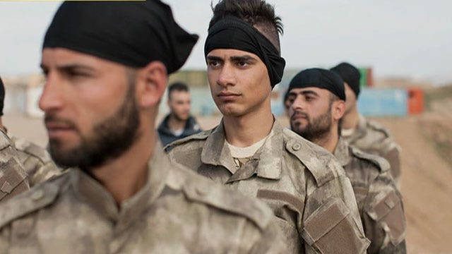 Report: Christian men training to fight against ISIS