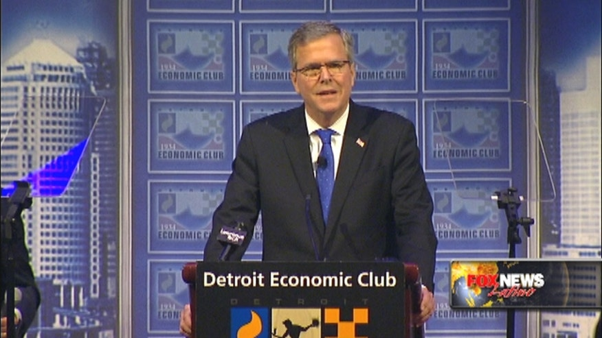 Jeb Bush calls immigration reform a 'huge opportunity, not a problem'