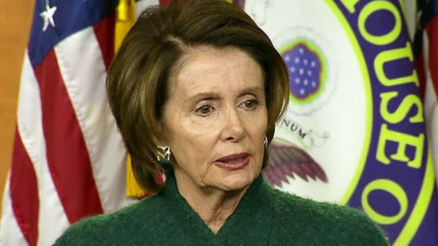 'Off the Record,' 2/5/15: No one really believes Nancy Pelosi and Democrats' schedules will be too full not keep them from hearing a world leader and US ally address Congress. Message to Dems: Quit playing games!