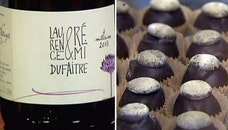 Lea Faith Williams teached us tips for pairing different wines with Valentine's Day treats